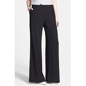 CHELSEA28 Black Wide Leg Dress Pants - 10